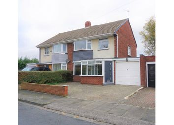 Thumbnail 3 bed semi-detached house for sale in Burwood Road, North Shields