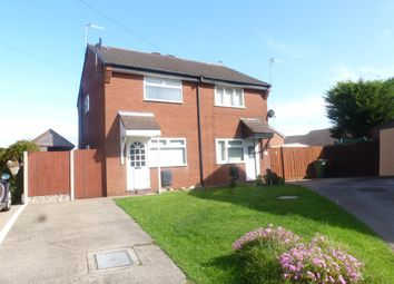 Thumbnail 2 bed semi-detached house for sale in Litcham Close, Upton, Wirral