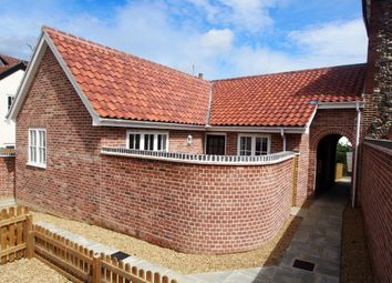 Thumbnail 2 bedroom terraced bungalow for sale in Chandlers Hill, Wymondham, Norfolk
