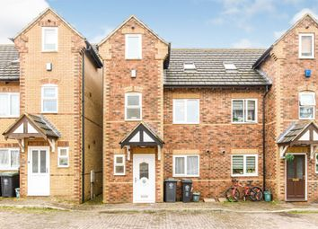 Thumbnail 4 bed town house for sale in Christine Court, Raunds, Wellingborough