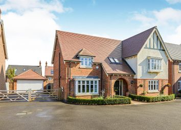 Thumbnail 5 bed detached house for sale in Graves Way, Anstey, Leicester
