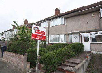 Thumbnail 3 bed terraced house to rent in Carr Road, Northolt