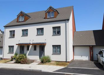 Thumbnail 4 bed semi-detached house for sale in St. Aubyn Street, Devonport, Plymouth