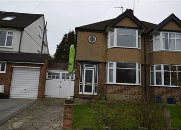 Thumbnail 3 bedroom semi-detached house for sale in Winton Crescent, Croxley Green, Rickmansworth Hertfordshire