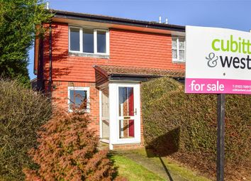 Thumbnail 2 bed end terrace house for sale in Furnace Way, Uckfield, East Sussex