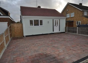 Thumbnail 1 bed detached bungalow to rent in Eversley Road, Benfleet, Essex