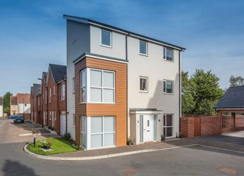 Thumbnail 4 bed town house for sale in Knights Crescent, Bletchley, Milton Keynes