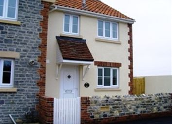 Thumbnail 3 bedroom end terrace house to rent in Catcott Road, Burtle, Bridgwater