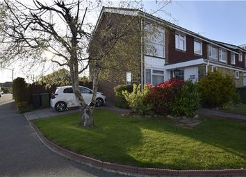 Thumbnail 3 bed end terrace house for sale in Harewood Close, Bexhill-On-Sea, East Sussex