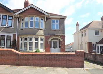 Thumbnail 3 bedroom semi-detached house to rent in Earl's Court Road, Penylan, Cardiff