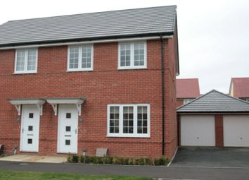 Thumbnail 3 bed semi-detached house to rent in Ernest Fitches Way, Littlehampton