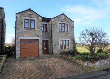 Thumbnail 4 bed detached house to rent in Broadacres, Honley