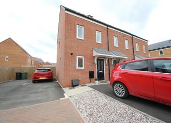 Thumbnail 3 bed end terrace house to rent in Julius Court, Cardea, Peterborough