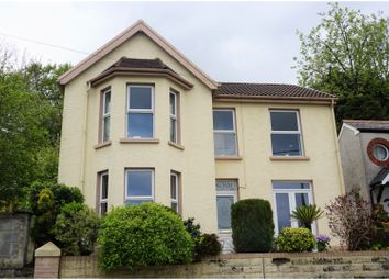Thumbnail 3 bed detached house for sale in Farm Road, Bargoed