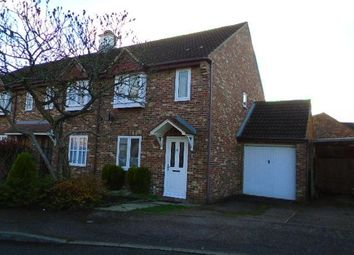 Thumbnail 3 bedroom end terrace house to rent in Great Portway, Biddenham, Bedford