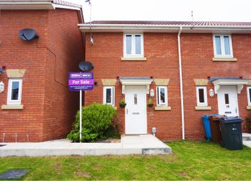 Thumbnail 2 bedroom end terrace house for sale in Dovestone Way, Hull