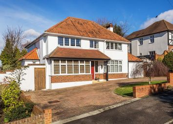Thumbnail 5 bed detached house for sale in Queensmead Avenue, Epsom