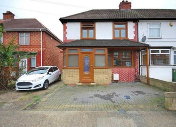 Thumbnail 3 bed end terrace house for sale in Norwood Avenue, Wembley