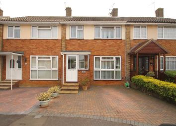 Thumbnail 3 bed terraced house for sale in Larkfield Close, Lancing, West Sussex