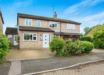 Thumbnail 5 bed detached house for sale in Meadow Close, Ringstead, Kettering