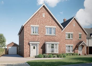 Thumbnail 4 bed detached house for sale in Warren Lane, Stanway, Colchester