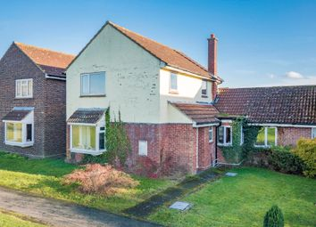 Thumbnail 3 bed link-detached house for sale in The Green, Leavenheath, Colchester