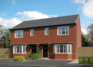 Thumbnail 3 bed semi-detached house for sale in Chadwick Park, Derby Road, Widnes