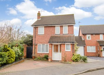 Thumbnail 4 bed detached house for sale in Hollyfields, Broxbourne, Hertfordshire