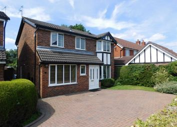 Thumbnail 4 bedroom detached house for sale in Whitethorn Close, Marple, Stockport