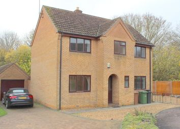 Thumbnail 4 bedroom detached house to rent in Lingwood Park, Longthorpe, Peterborough