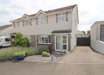 Thumbnail 3 bed semi-detached house for sale in Ty Gwyn Drive, Brackla, Bridgend.