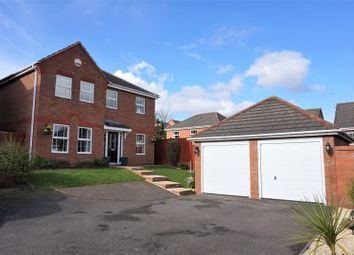 Thumbnail 4 bed detached house for sale in Shetland Avenue, Tamworth