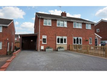 Thumbnail 3 bed semi-detached house for sale in Lewis Close, Drakes Broughton