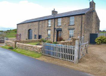 Thumbnail 4 bedroom detached house for sale in Branch Road Farm, Branch Road, Smithybridge, Littleborough, Rochdale