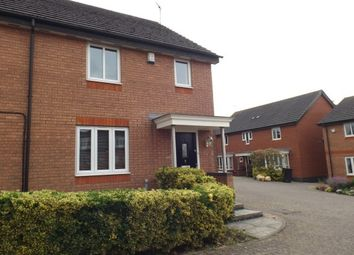 Thumbnail 3 bed semi-detached house to rent in Cara Close, Leicester