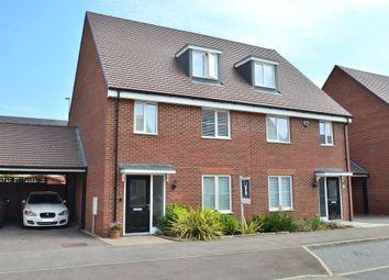 Thumbnail 4 bed semi-detached house for sale in Alderney Avenue, Newton Leys, Bletchley, Milton Keynes