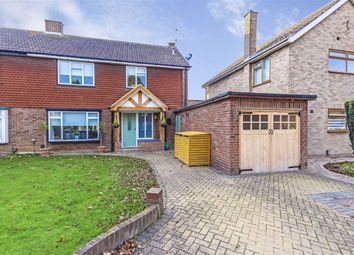 Thumbnail 3 bed semi-detached house for sale in Kenton Avenue, Sunbury-On-Thames