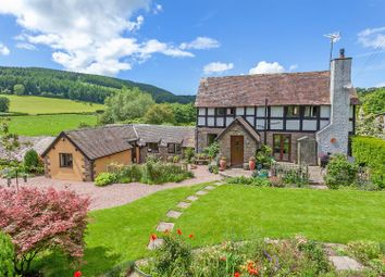 Thumbnail 4 bedroom detached house for sale in Hopton Castle, Craven Arms