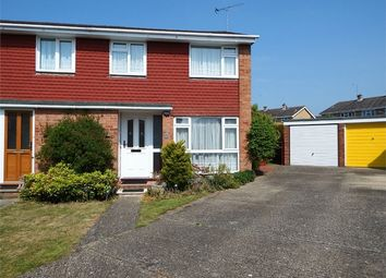 Thumbnail 3 bed semi-detached house for sale in Clandon Court, Farnborough, Hampshire