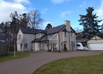 Thumbnail 4 bed detached house for sale in Bruce Drive, Murthly, Perth
