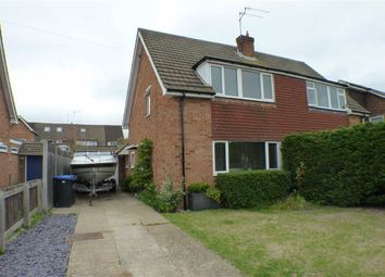 Thumbnail 3 bed semi-detached house for sale in Celtic Road, Byfleet, Surrey