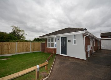 Thumbnail 2 bed bungalow to rent in Birchmuir Close, Crewe
