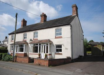 Thumbnail 3 bed semi-detached house to rent in High Street, Cheswardine, Market Drayton