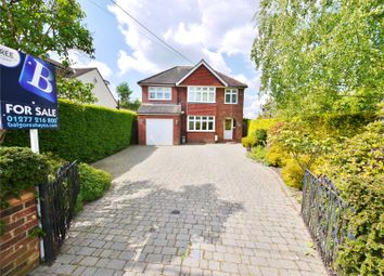 Thumbnail 4 bed detached house for sale in Mill Lane, Kelvedon Hatch, Brentwood, Essex