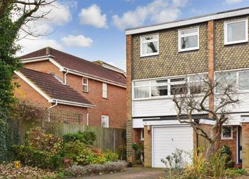 Thumbnail 4 bed town house for sale in Knighton Close, South Croydon, Surrey