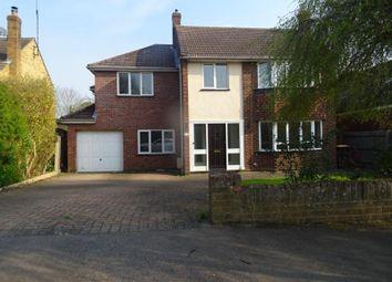 Thumbnail 5 bed detached house to rent in Elgar Close, Biddenham