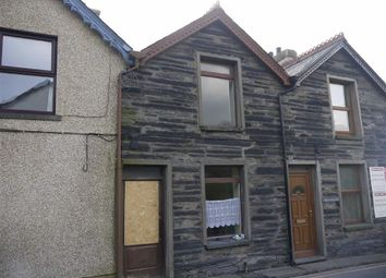 Thumbnail 2 bed terraced house for sale in Fron Heulog, Penrhyndeudraeth