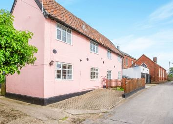 Thumbnail 3 bed semi-detached house for sale in Rose Lane, Bungay