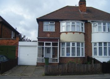 Thumbnail 3 bed semi-detached house to rent in Edward Avenue, Leicester