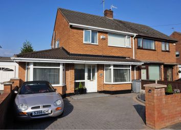 Thumbnail 3 bed semi-detached house for sale in Whitewell Drive, Wirral